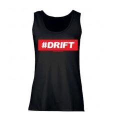 #DRIFT női trikó, fekete
