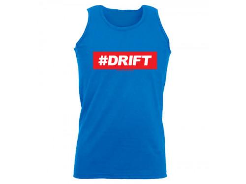 #DRIFT férfi trikó, királykék (L, XL méret)