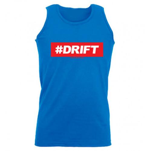 #DRIFT férfi trikó, királykék
