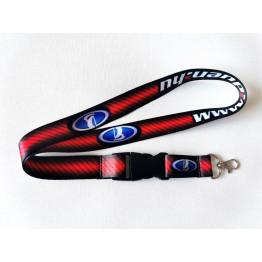 LADA kulcstartó, piros-fekete