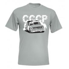CCCP Lada 2101 férfi póló, cink (UTOLSÓ S méret)