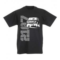 LADA 2107 JUMP gyerek póló, fekete (UTOLSÓ 128-as méret)