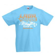 LADA BATTLE gyerek póló, világoskék