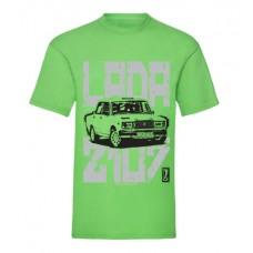 LADA SP2107 férfi póló, lime (M, XXL méret)