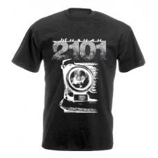 VAZ 2101 férfi póló, fekete
