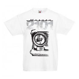 VAZ 2101 gyerek póló, fehér