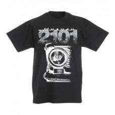 VAZ 2101 gyerek póló, fekete ( 128-as méret)