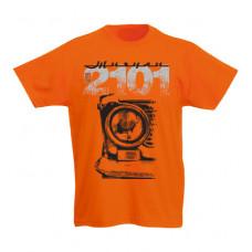 VAZ 2101 gyerek póló, narancs ( 128-as méret)
