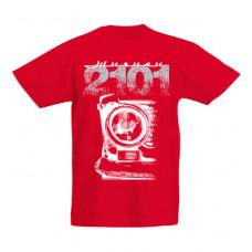 VAZ 2101 gyerek póló, piros ( 128-as, 140-es méret)