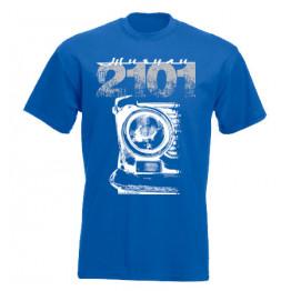 VAZ 2101 férfi póló, királykék