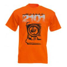 VAZ 2101 férfi póló, narancs
