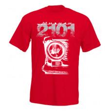 VAZ 2101 férfi póló, piros