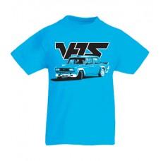 VFTS drift gyerek póló, azúrkék (104, 116, 128-as méret)
