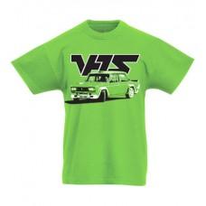 VFTS drift gyerek póló, lime (104, 116, 128-as méret)