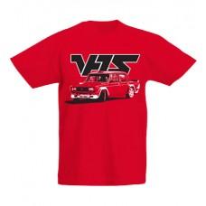 VFTS drift gyerek póló, piros (UTOLSÓ  140-es méret)