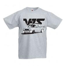 VFTS drift gyerek póló, szürke (116, 128-as méret)