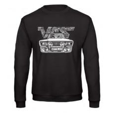 VFTS-01 férfi pulóver, fekete