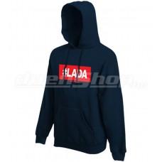 #LADA kapucnis pulóver, sötétkék