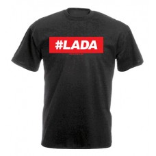 da41d5bfe2 #LADA férfi póló, fekete