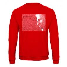 COLIN pulóver, piros