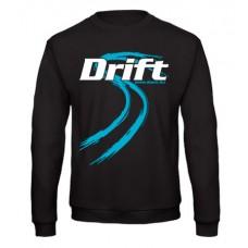DRIFT guminyom pulóver, fekete
