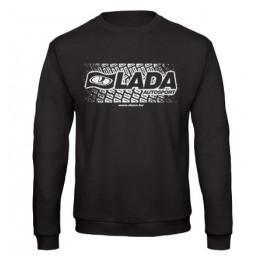LADA AUTOSPORT férfi pulóver, fekete