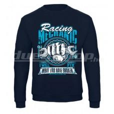 Racing MECHANIC pulóver, navy