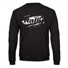 RALLY pulóver, fekete