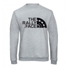 THE RALLY FACE pulóver, szürke