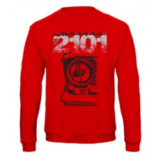 VAZ 2101 pulóver, piros