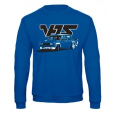 VFTS drift pulóver, királykék