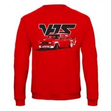 VFTS drift pulóver, piros