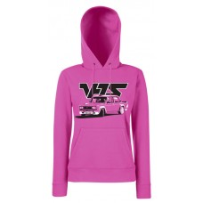 VFTS drift női kapucnis pulóver, magenta