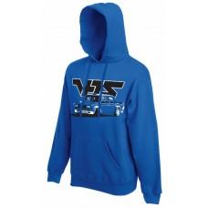 VFTS drift kapucnis pulóver, királykék