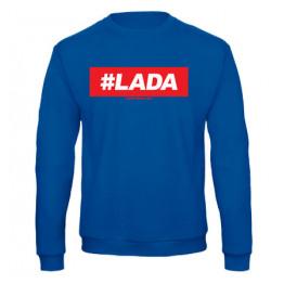#LADA férfi pulóver, királykék