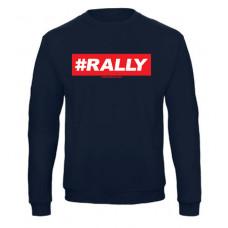 #RALLY pulóver, sötétkék