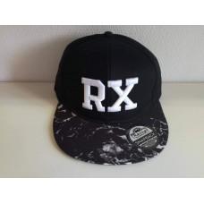 RX baseball sapka, fekete / mineral SNAPBACK