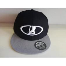 LADA logó baseball sapka, fekete / szürke SNAPBACK
