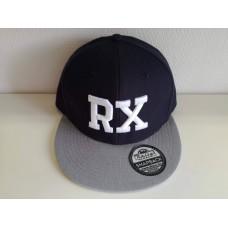 RX baseball sapka, kék / szürke  SNAPBACK