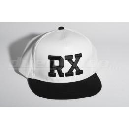 RX baseball sapka, fehér / fekete  SNAPBACK
