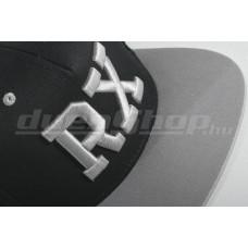 RX baseball sapka, fekete/ dupla szürke  SNAPBACK