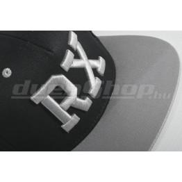 RX baseball sapka, fekete/ cink  SNAPBACK