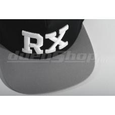 RX baseball sapka, fekete/ szürke  SNAPBACK