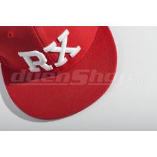 RX baseball sapka, piros SNAPBACK