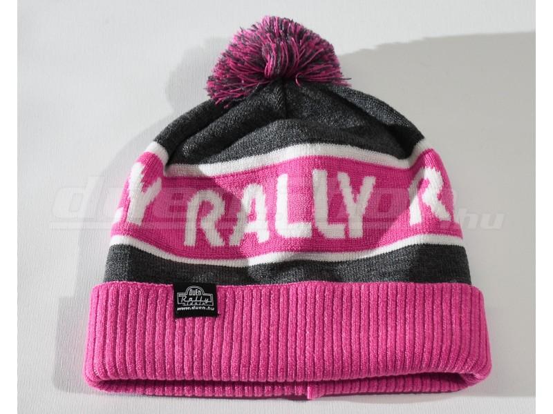 RALLY kötött téli sapka 14fb8dafe7