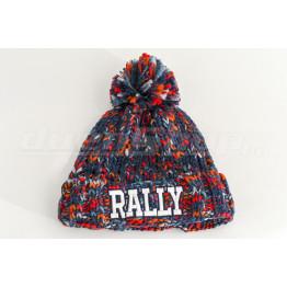 RALLY téli bélelt sapka, piros-kék
