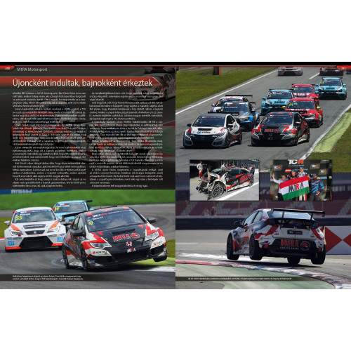 Tempó a magyar autósport évkönyve 2017