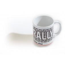 RALLY bögre, fehér