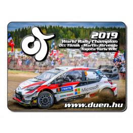 Hűtőmágnes - Ott Tanak - World Champion 2019